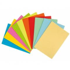 Papierfarbmuster A4 ablackiert